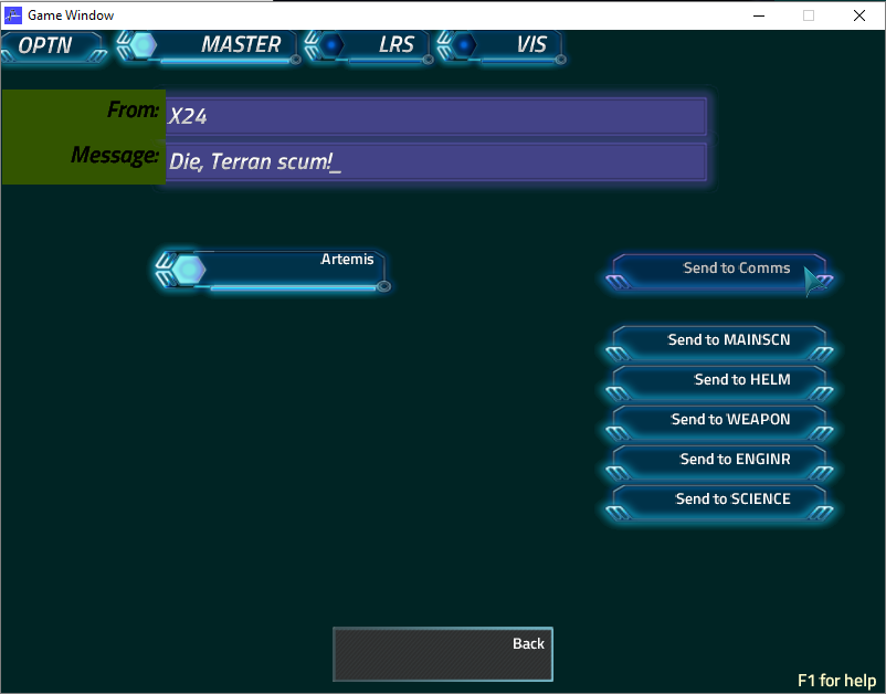 Artemis Wiki Licensed For Non Commercial Use Only Game Master