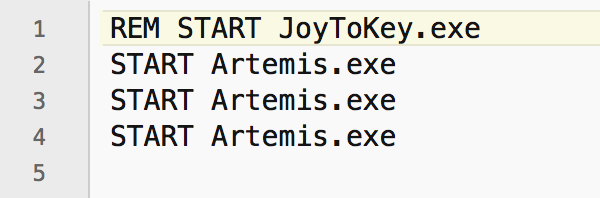 Artemis Wiki [licensed for non-commercial use only] / How to run