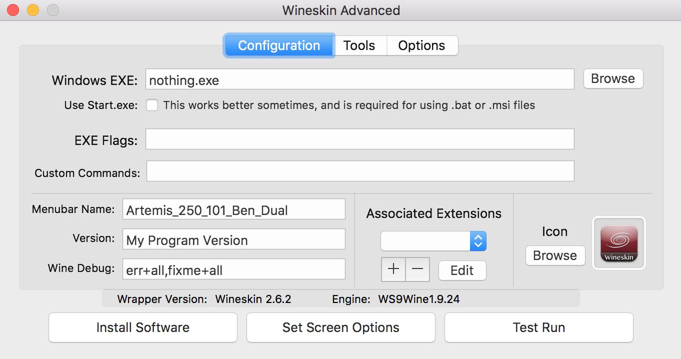 wineskin mac os x 10.6.8